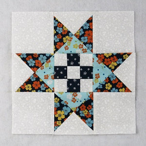 How to Create an Easy Version of Dolly Madison's Star Quilt Block