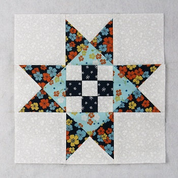 dolley madison star quilt block