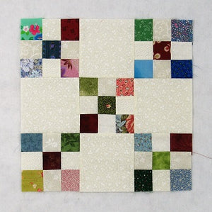 How to Sew the Easy Double Nine Patch Quilt Block