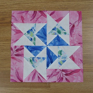 Flying Dutchman Quilt Block Free Tutorial