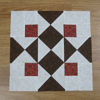 Free Quilt Block Pattern - Four Corners