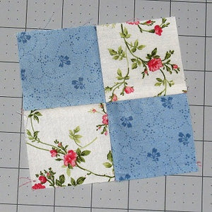 How to Sew a Basic Four-Patch Quilt Block