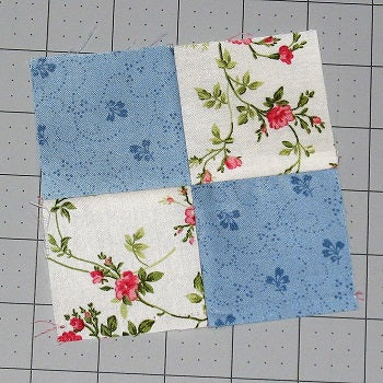 four patch quilt block