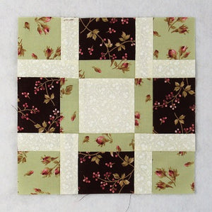 Strips and Squares Free Quilt Block Tutorial