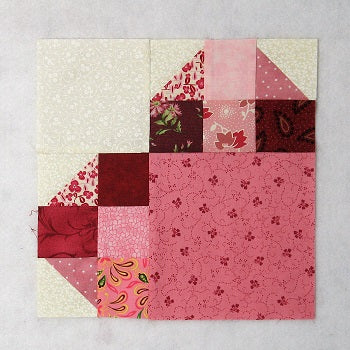 Heart Quilt Block Tutorial and Layout Options