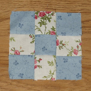 How to Sew a Basic Nine-Patch Quilt Block