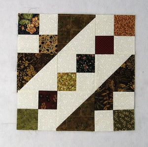 Easy Railroad Quilt Block Tutorial