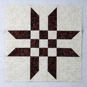 Another Easy Ribbon Star Quilt Block Tutorial