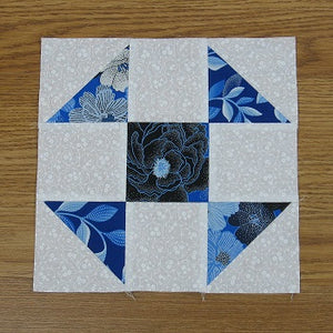 Free Pattern - Shoofly Quilt Block and a Variation