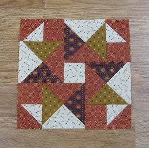 Free Tumbling Ties Quilt Block Pattern