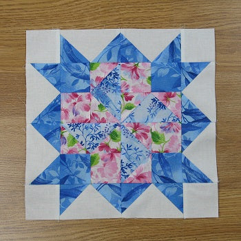 Free Weathervane Variation Quilt Block Pattern
