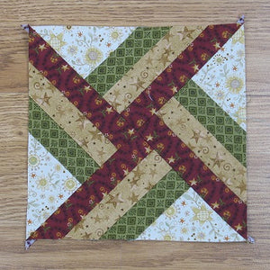 Free Pattern - Whirlwind Quilt Block