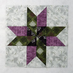 two color quilt block