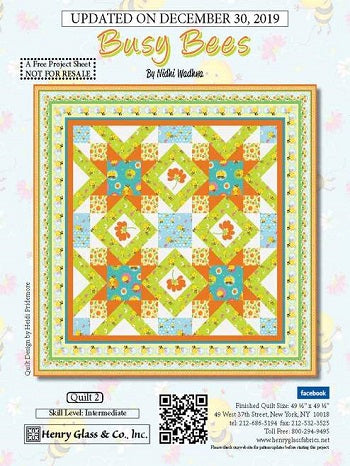 busy bee quilt picture
