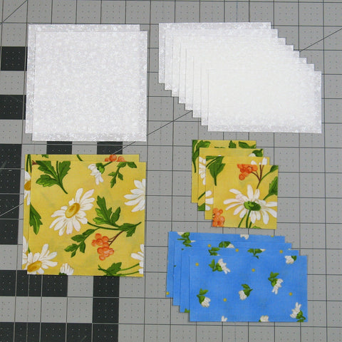 chained nine patch fabric requirements