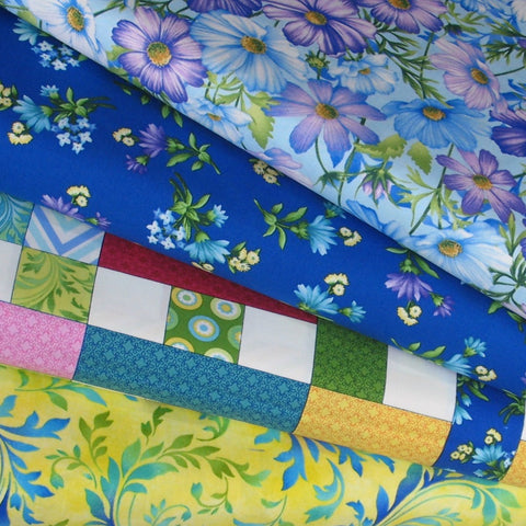 Botanica Blooms quilt fabric bundle