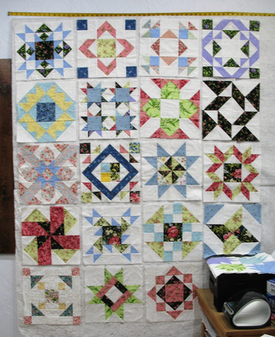 sampler quilt layout