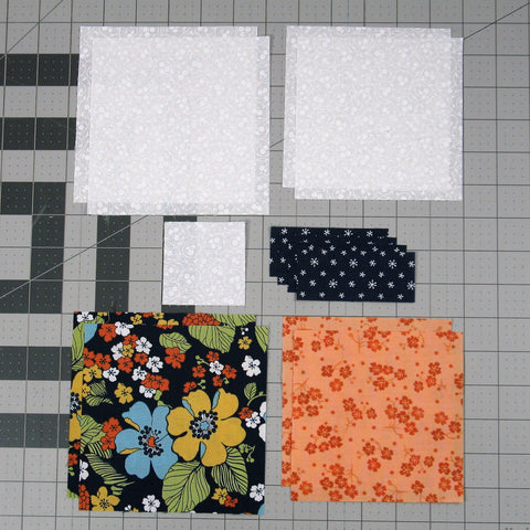 squares and diamonds fabric requirements