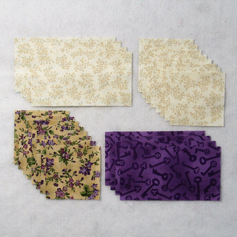 winged square fabric requirements