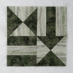 chain and hourglass quilt block