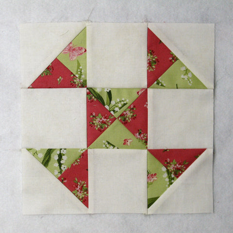 cobwebs quilt block