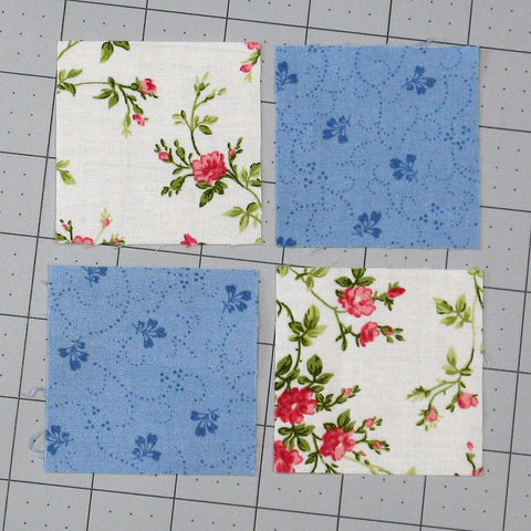 Sewing Quilt Squares Together