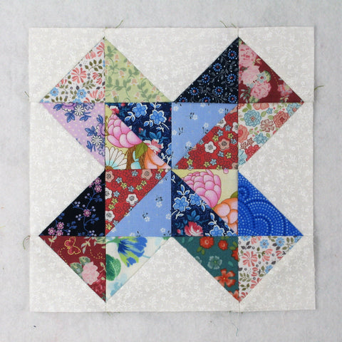 old grey goose quilt block