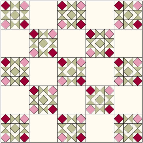 blocks and star quilt 2
