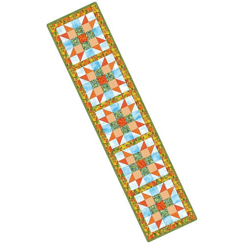 quilters road trip table runner