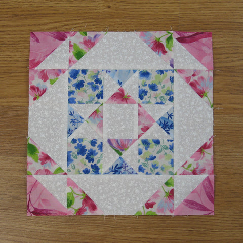 square and a half quilt block