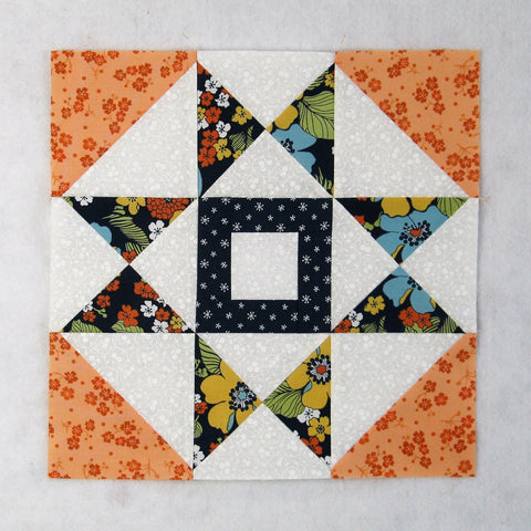 squares and diamonds quilt block