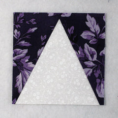 triangle in a square quilt block
