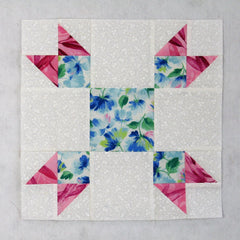 tulip lady fingers quilt block
