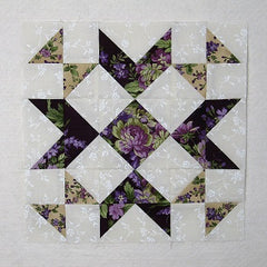 wedding bouquet quilt block