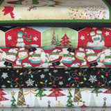 holly jolly christmas fabric bundle
