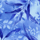 Gentle Leaves in Blue