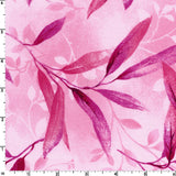 Gentle Leaves in Pink