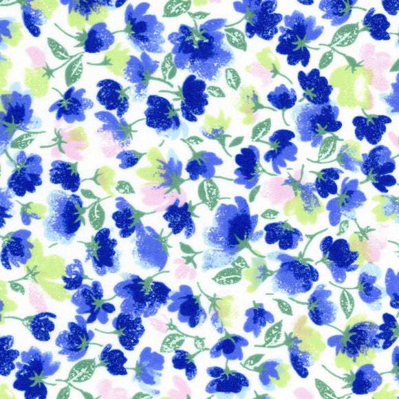Little Flowers in Blue