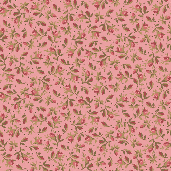 vintage calico in pink