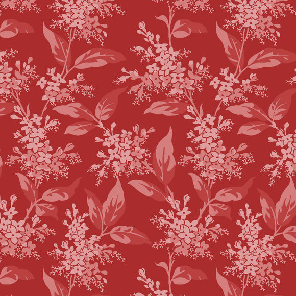 tonal lilacs in red