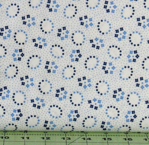 Oval Flowers in Blue, Hi-De-Ho! a Kim's Cause Collection, Maywood Studio