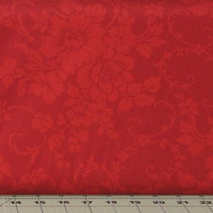 Red Tone on Tone Floral from the Mary's Blenders Collection by Mary Koval for Windham Fabrics, 32033-1