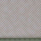 Small Rose Pink Dots on a Mottled Cream Background from the Welcome Home Collection by Maywood Studio