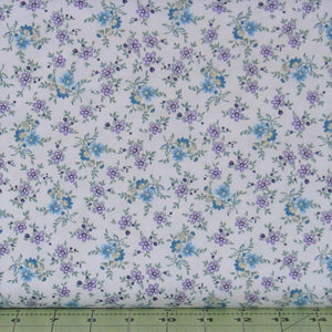 Small Calico in Lilac from the Twilight Garden Collection by Mary Jane Carey of Holly Hill Quilt Designs for Henry Glass Fabrics, 8874-55