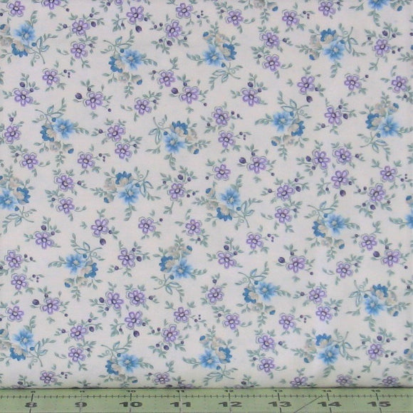 Small Calico in Linen from the Twilight Garden Collection by Holly Hill Quilt Designs for Henry Glass Fabrics, 8874-44