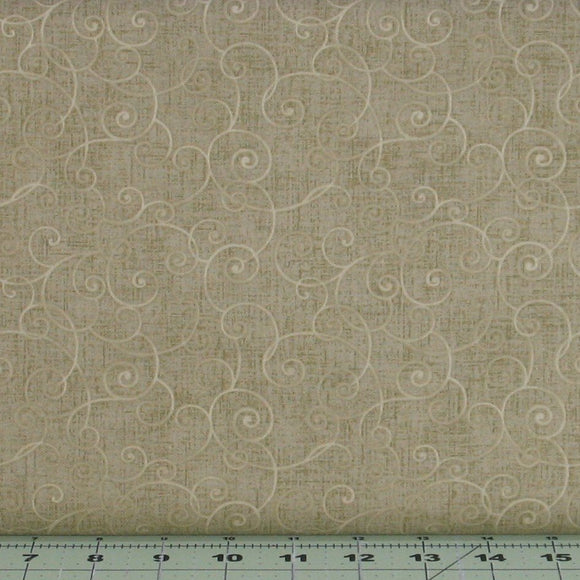 Whimsy Basics in Light Olive Green Tonal Blender by Color Principle for Henry Glass Fabrics, 8945-66