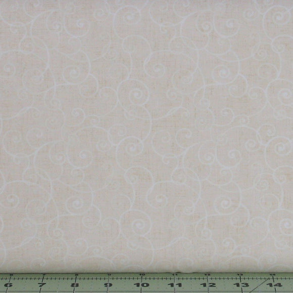 Whimsy Basics in Cream Tone on Tone Blender by Color Principle for Henry Glass Fabrics, 8945-44
