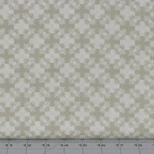 Gray-Green Floral in a Diagonal Design from the Serenity 22 Collection by Daiwabo for Maywood Studio, 90233-E
