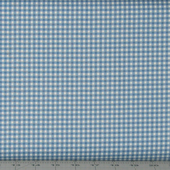 Blue and White Small Check from the From the Farm Collection by Maywood Studio, 610-B3