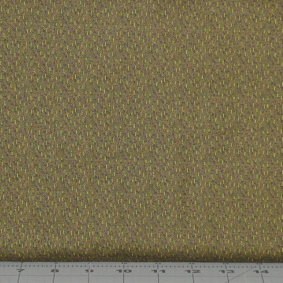 Olive Green Tonal from the Itty Bitty Collection by Janet Rae Nesbitt for Henry Glass Fabrics, 2151-68